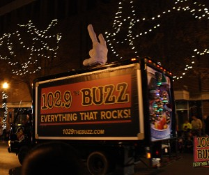 The Buzz in Nashville Christmas Parade 2012