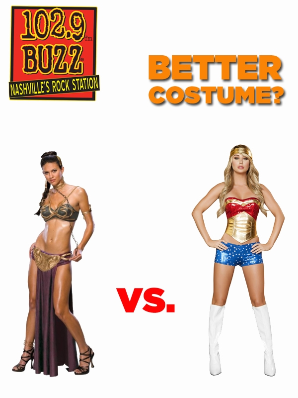 Better Costume?  Princess Leia vs. Wonder Woman