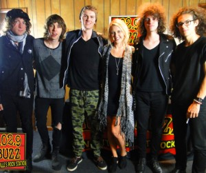 Catfish & The Bottlemen Buzz Session Listener Photos