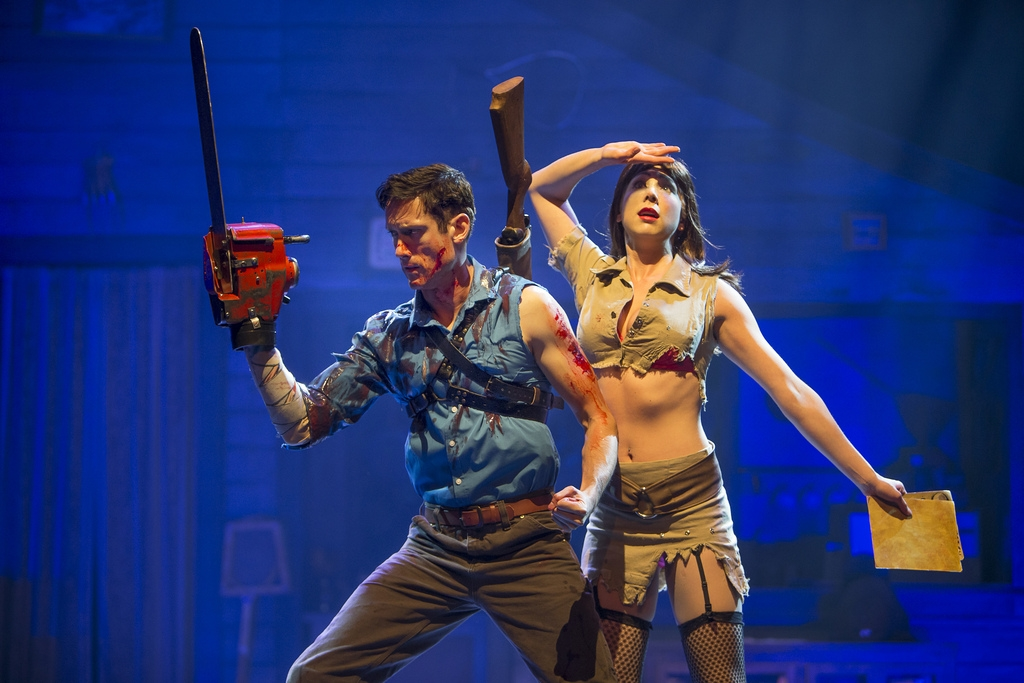 Evil Dead the Musical doesn't disappoint.
