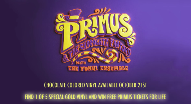 Primus going all Wonka...hides golden tickets inside albums.
