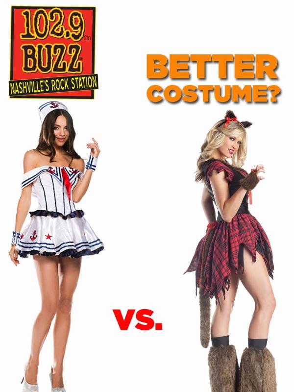 Better Costume?  Sailor vs. Werewolf