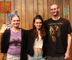 Meg Myers Buzz Session Listener Photos