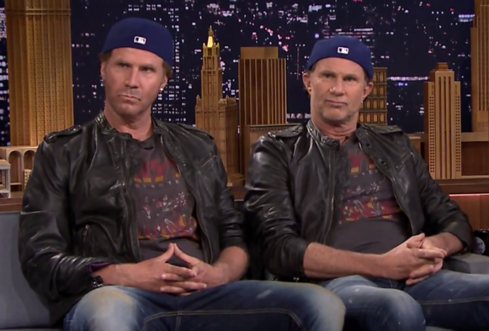 Chad Smith Doing Comedy Act with Will Ferrell?