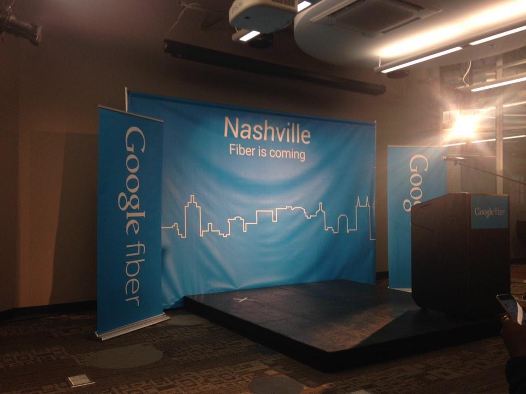 Google Fiber Is Coming To Nashville!