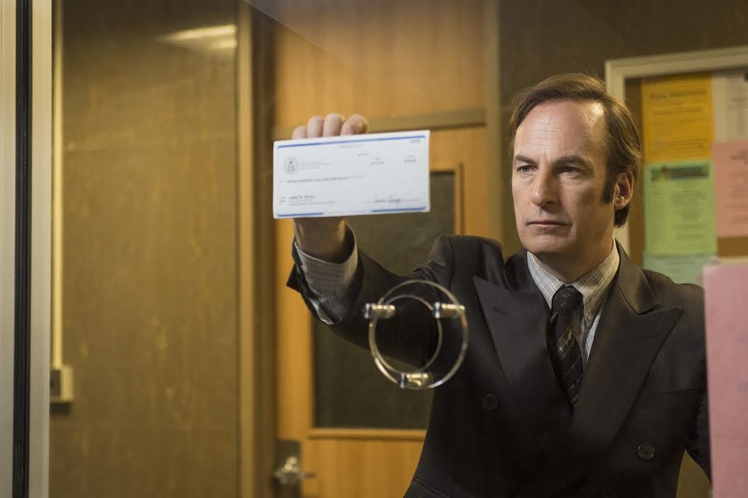 No, Walter White has not called.  Saul's Flying Solo