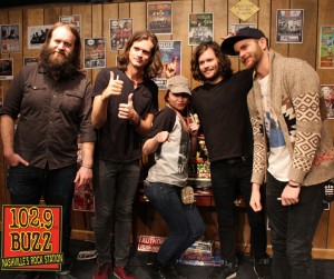 Kongos Buzz Session-Listener Photos
