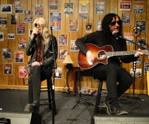 The Pretty Reckless Buzz Session April 22, 2015