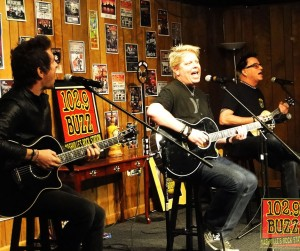 The Off Spring acoustic Buzz Session 2015