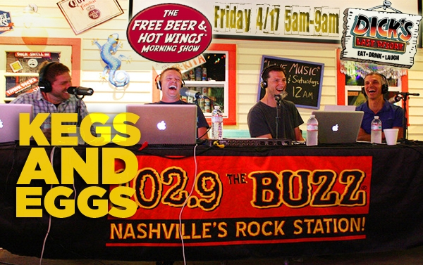 Free Beer and Hot Wings Live Broadcast 4/17/15