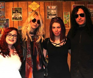 The Pretty Reckless Buzz Session-Winner Photos