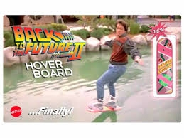 Back To The Future II is a reality...well at least the Hoverboard is!