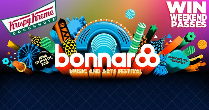 BUMPERS FOR BONNAROO-get a sticker and score!