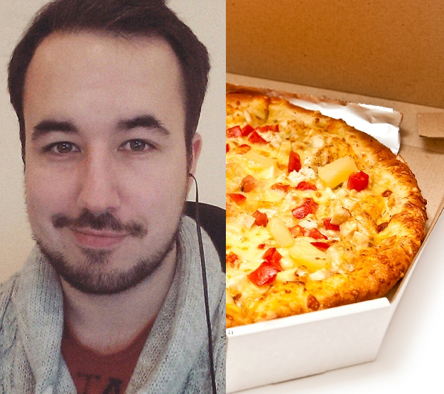 Drunk British Guy Buys $550 Worth of Pizza for Strangers in the US