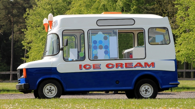 5@5: Reason Why Ice Cream Truck Drivers Can Seem Creepy... This Guy