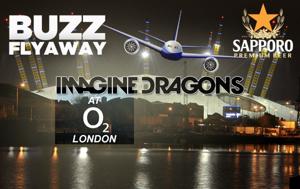 Fly to London to see Imagine Dragons