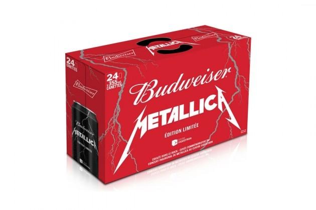 metallica bud