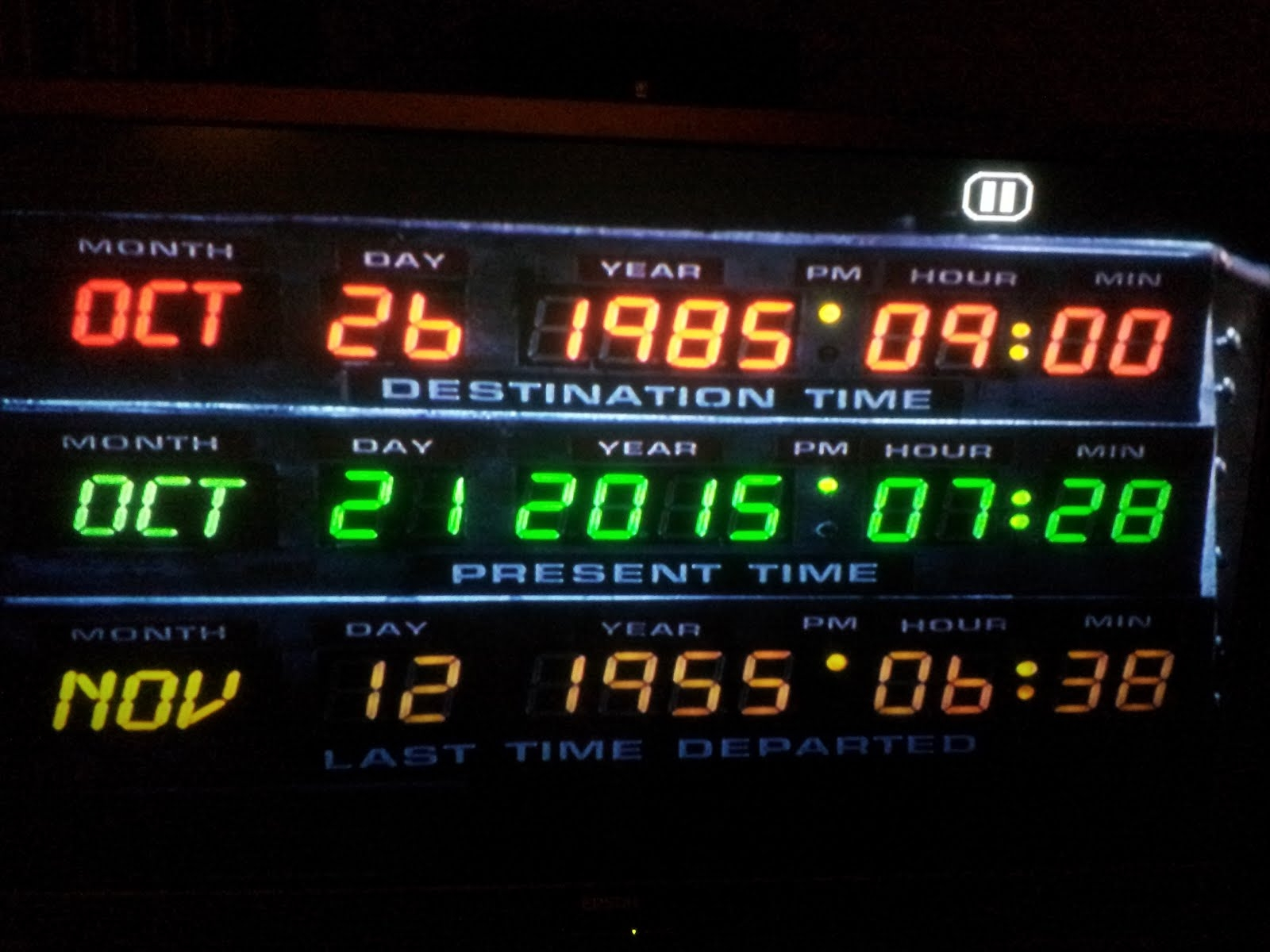 "The ""Back To The Future"" future is almost here!"