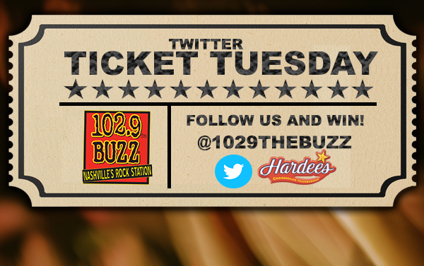 Find us at a Middle TN Hardee's and win tickets!