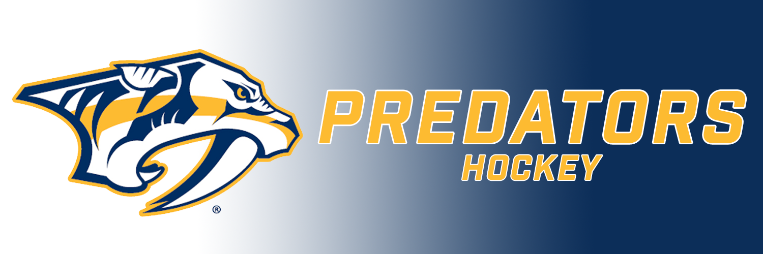 PREDATORS HOCKEY HEADER