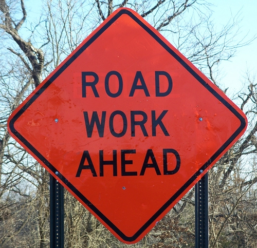 Road Work in Mt. Zion Next Week