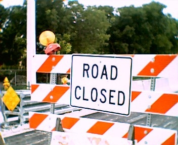 A Section of N. Union St. Closed Through this Weekend