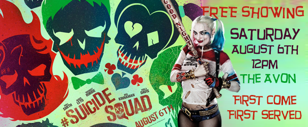 Free Showing of Suicide Squad