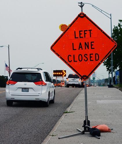 Lane Closures on the US Rte 36 Bridge