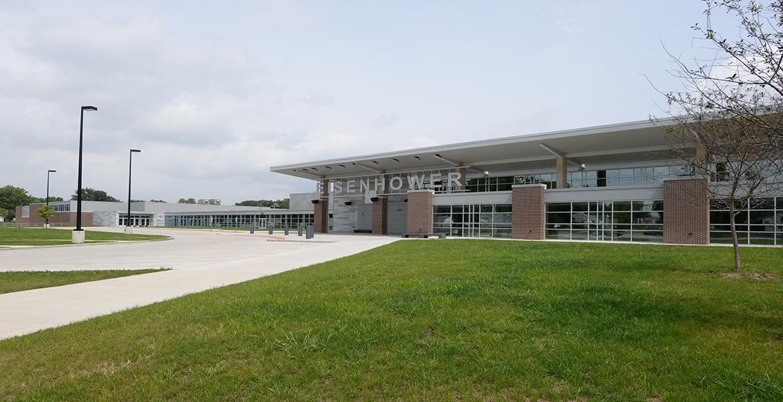 Naming Ceremony at Eisenhower High School