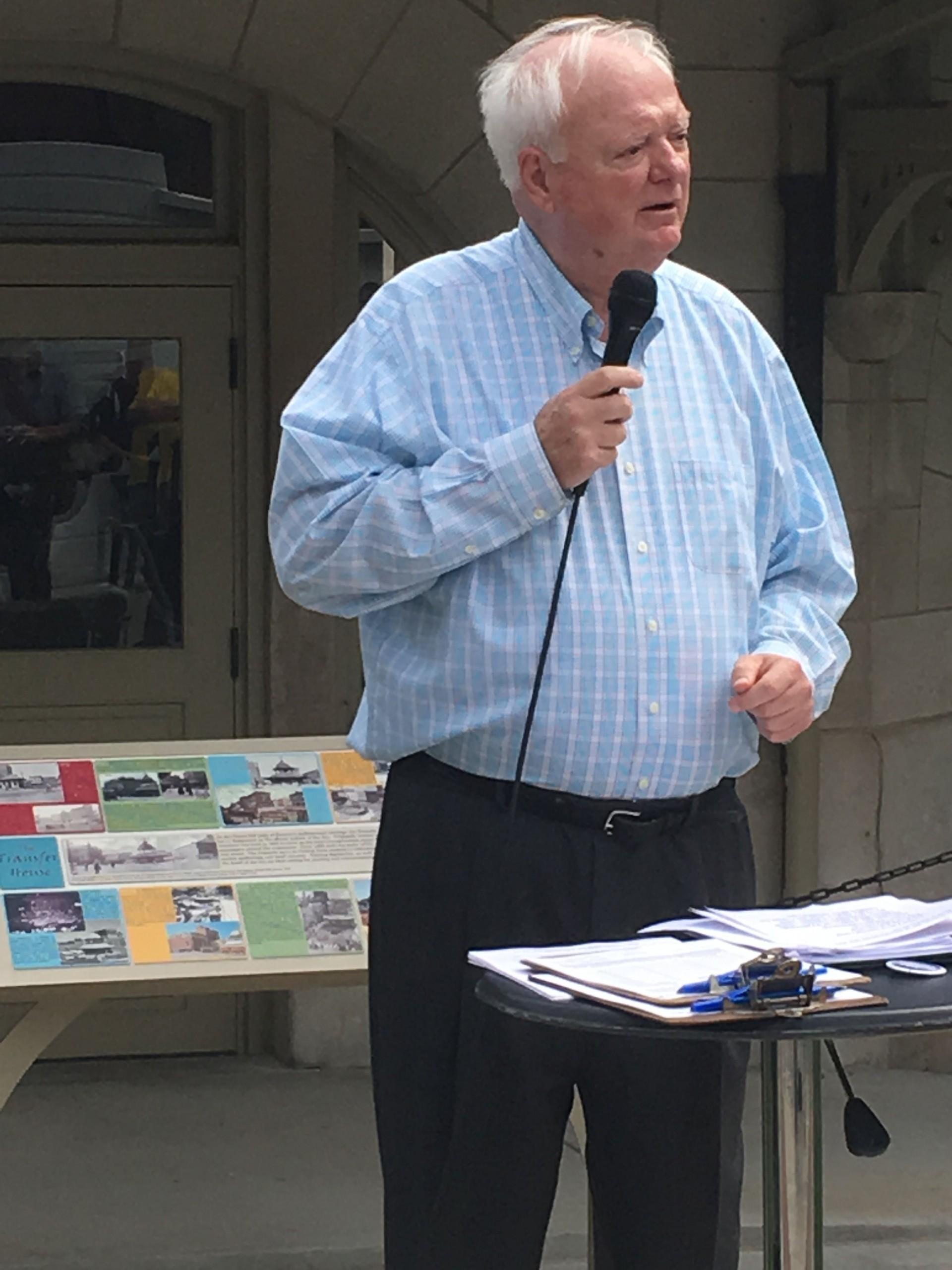 John Phillips Announces Bid for Mayor