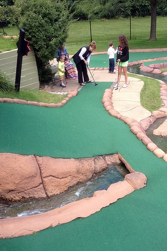 Mini Golf as You've Never Played it Before