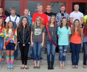 VCHS Homecoming Court 2015