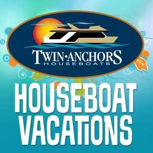 Be THE Best Man with Twin Anchors Houseboats!