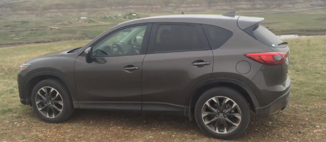 Beckler Takes the Mazda CX-5 for a rip in the Badlands