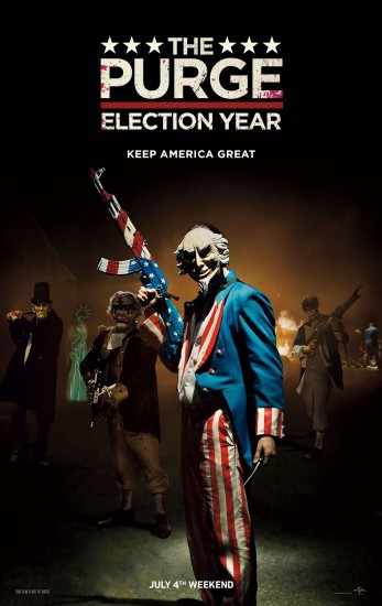 X92.9 Free Flick - The Purge: Election Year