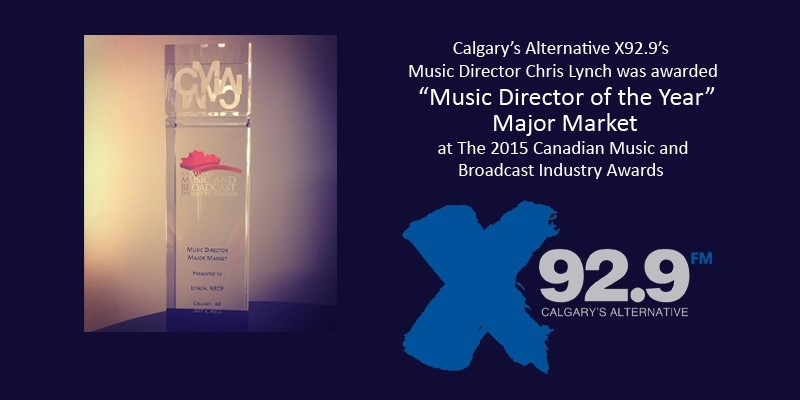 X92.9: Proud home to Music Director of the Year