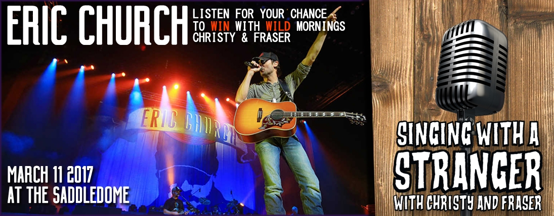 Singing With a Stranger! Win Tickets to See Eric Church