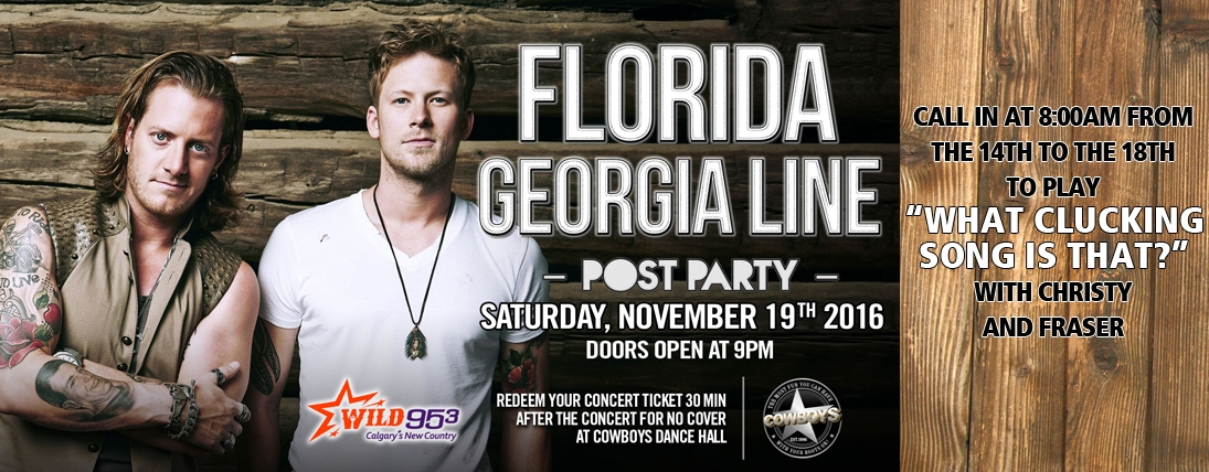 Win Box Tickets to Florida Georgia Line!
