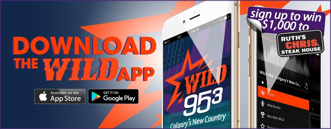 WILD 953 Mobile App