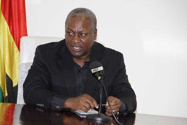 Saboteurs of Ghana's peace shall be dealt with drastically – Mahama