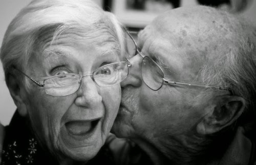 Old age and romance