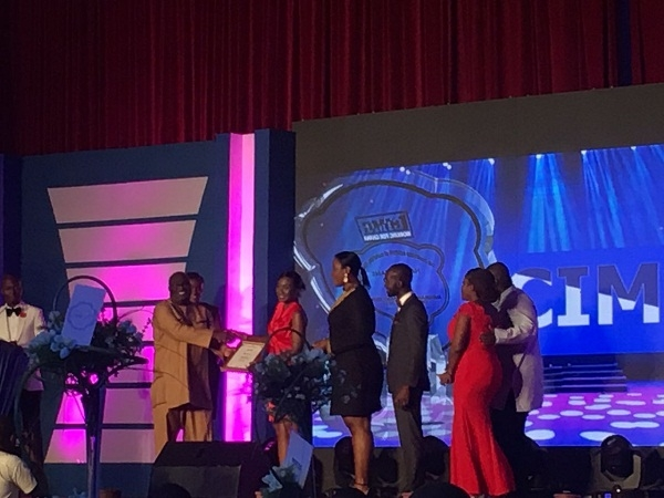 "Vodafone Ghana scoops CIMG's ""Best TV and Outdoor Adverts"" honours"