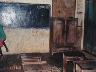 Teachers sleep in Classroom