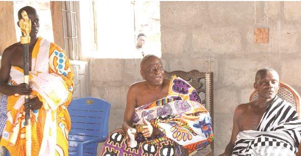 Don't worry about victory - Chief assures Nana Konadu