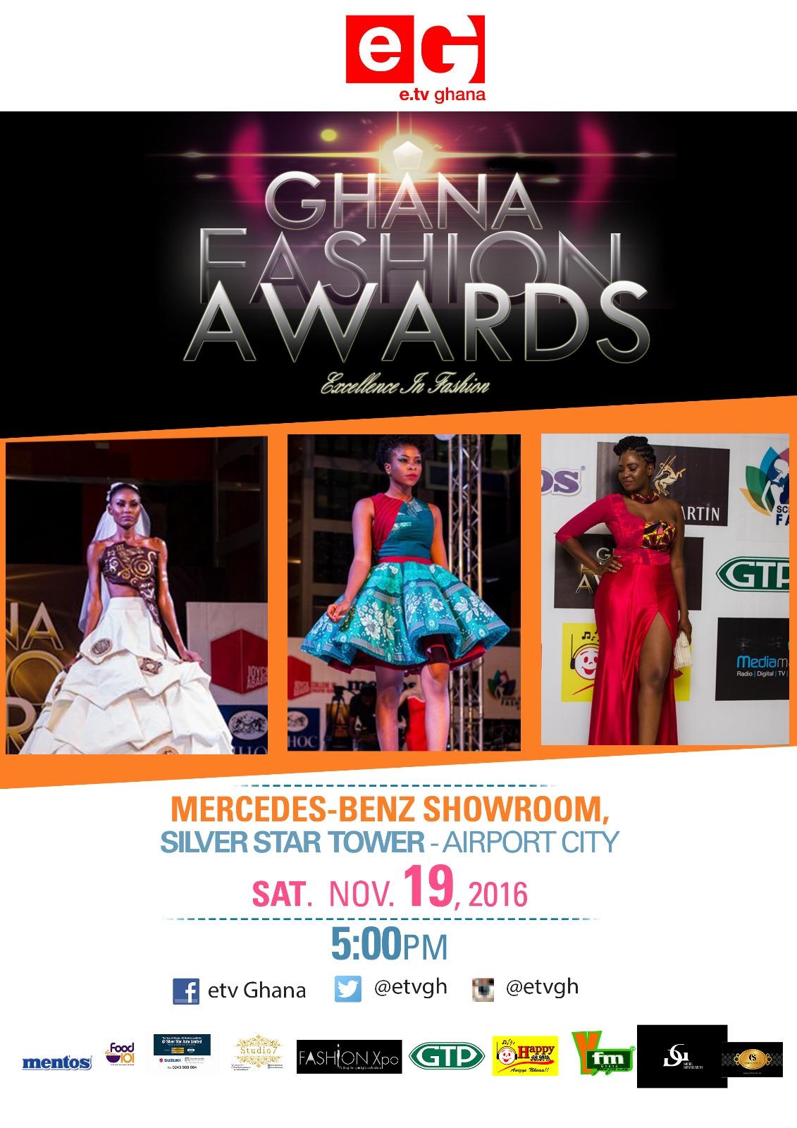 Over 70 Fashion Designers Nominated For 2016 E.Tv Ghana Fashion Awards
