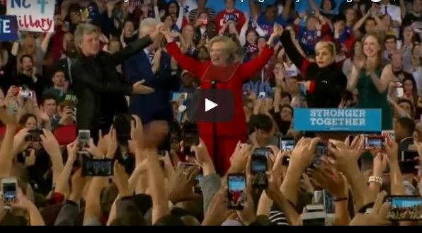 LIVE STREAMING: Hillary Clinton campaigns in North Carolina