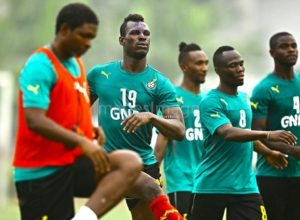 Edwin Gyimah trains with Ghana Afcon squad despite motor accident fears