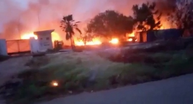Trade Fair gas explosion: 6 burnt to death, 12 in critical condition