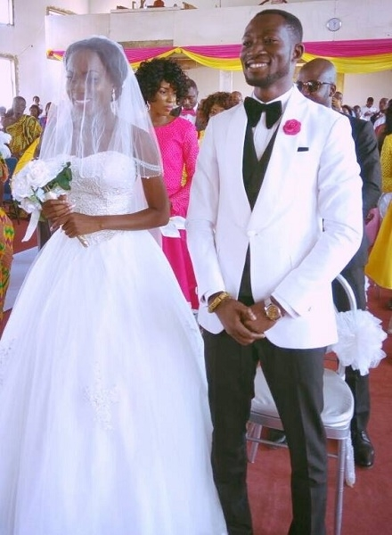 eTV's sports presenter Ohene Bampoe Brenya marries