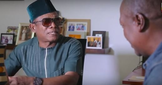Usuofia meets Mahama; promises to release 'Usuofia in Ghana' movie